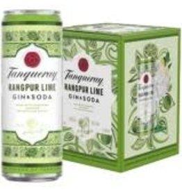 TANQUERAY RANGPUR GIN AND SODA 4PK CANS