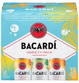 BACARDI VARIETY PACK 6PK