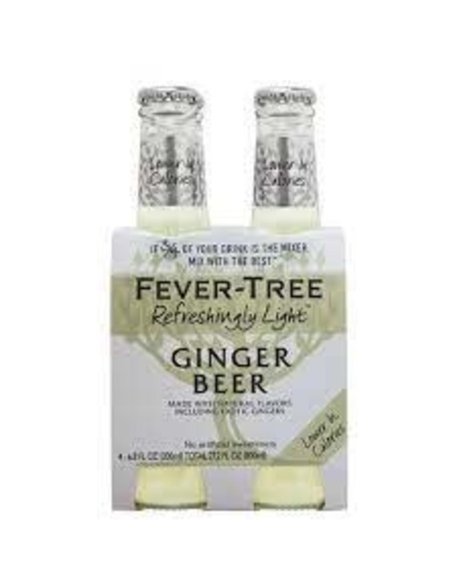 FEVER TREE GINGER BEER LIGHT 4PK