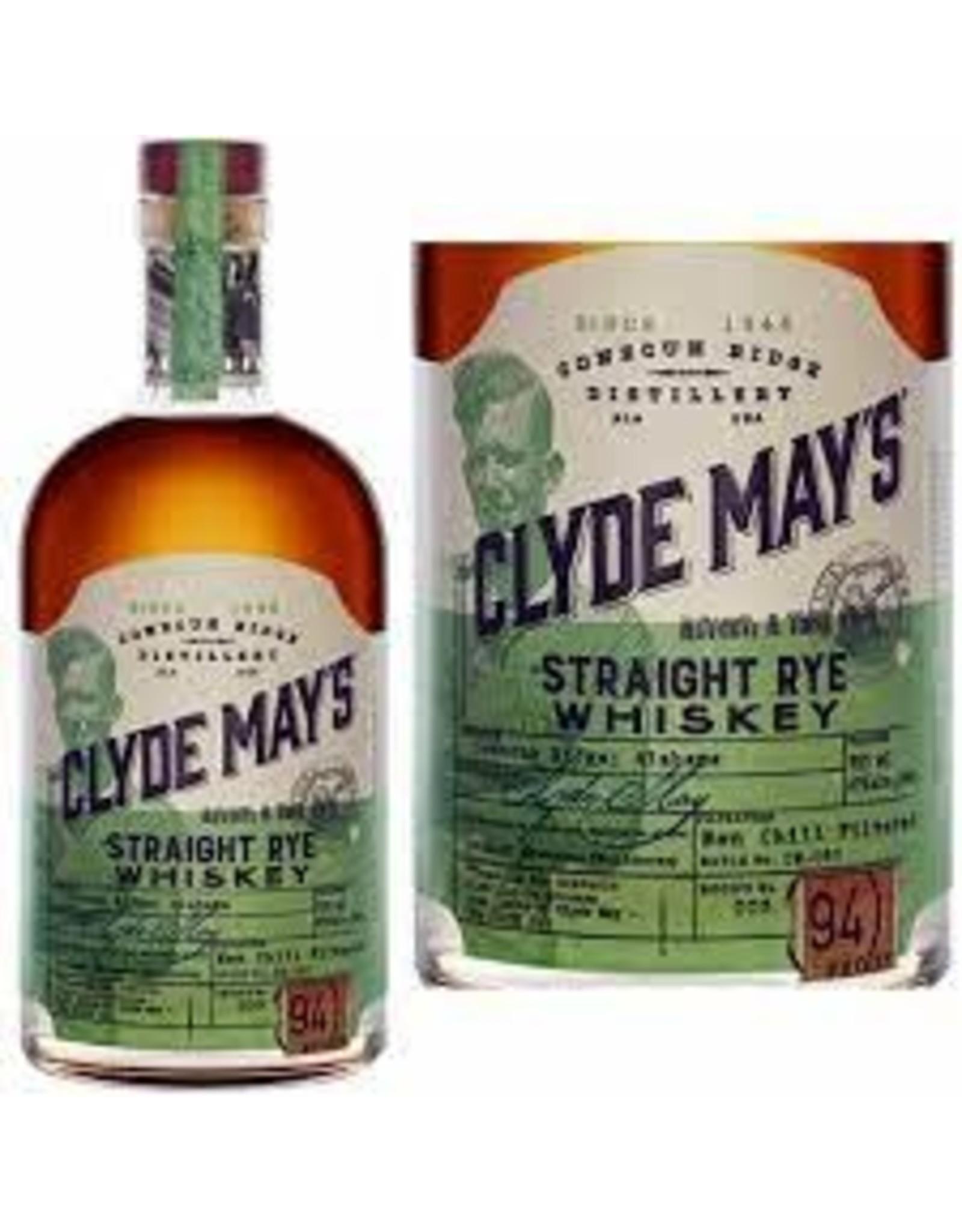 CLYDE MAYS STRAIGHT RYE 750ML