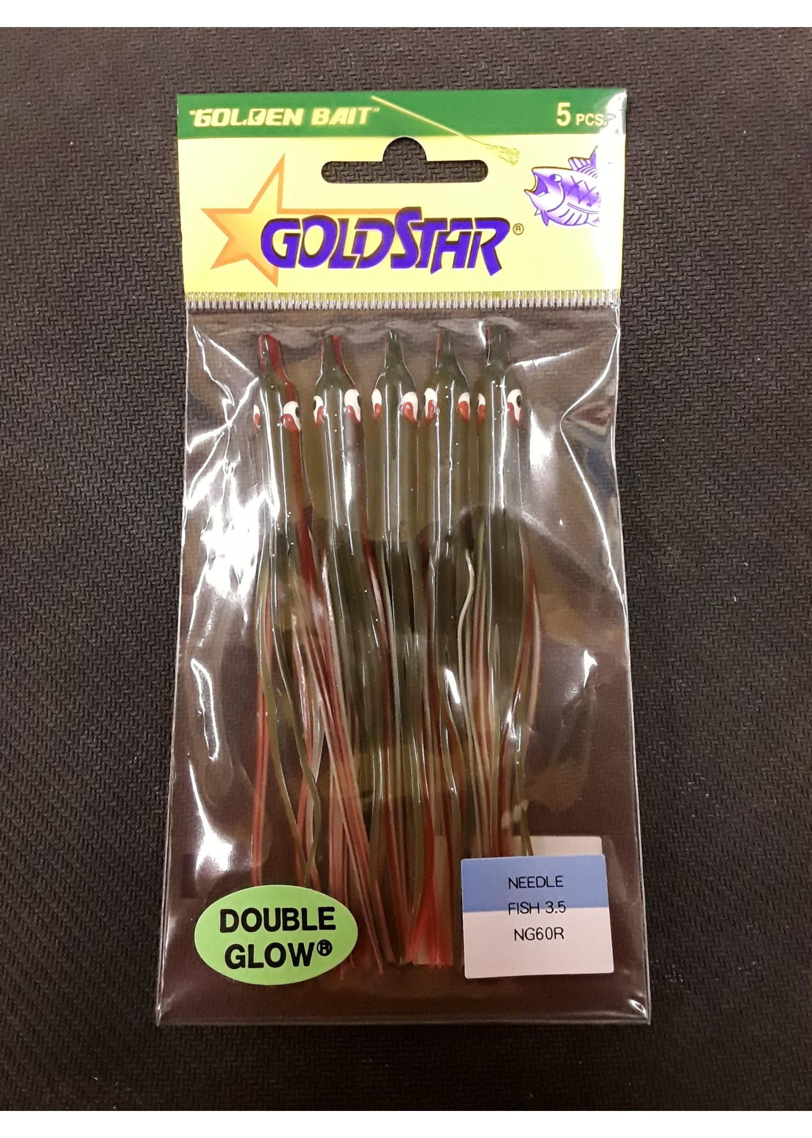 SILVER HORDE Gold Star Needlefish 5pk 1390-8060