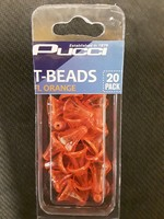 P-LINE P-Line T-Beads Flour Orange 20pk
