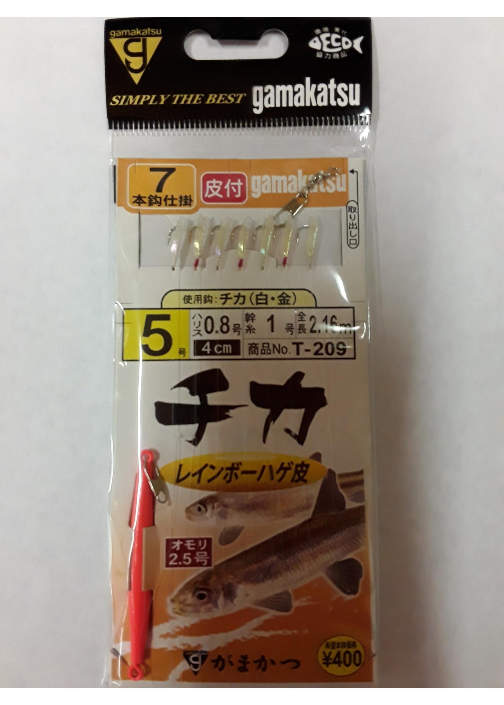 GAMAKATSU Gamakatsu Jigging Rig, Special Assorted