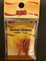 SMI SMI Sinker Sliders 2-pk Red   sz 1