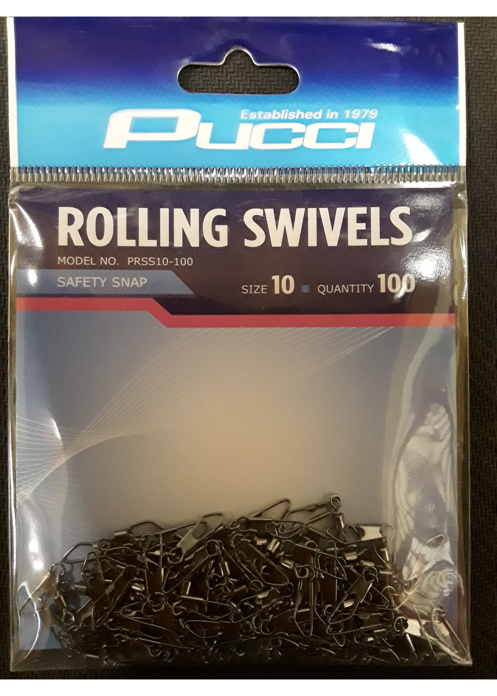 P-LINE P-Line SWIVELS ROLLING #10 WITH SAFET