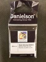 Danielson Danielson SINKER TWIST-ON LINE 24 peices