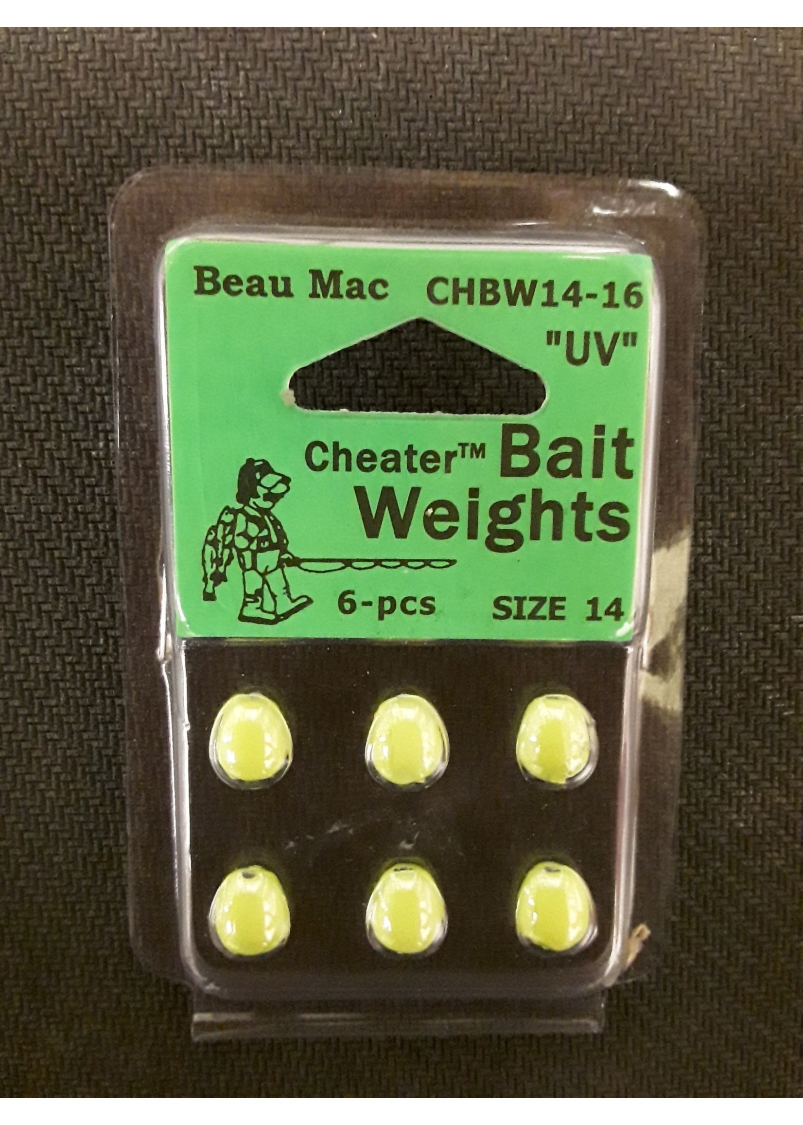 Beau Mac Enterprises Beau Mac CHEATER BAIT WEIGHTS