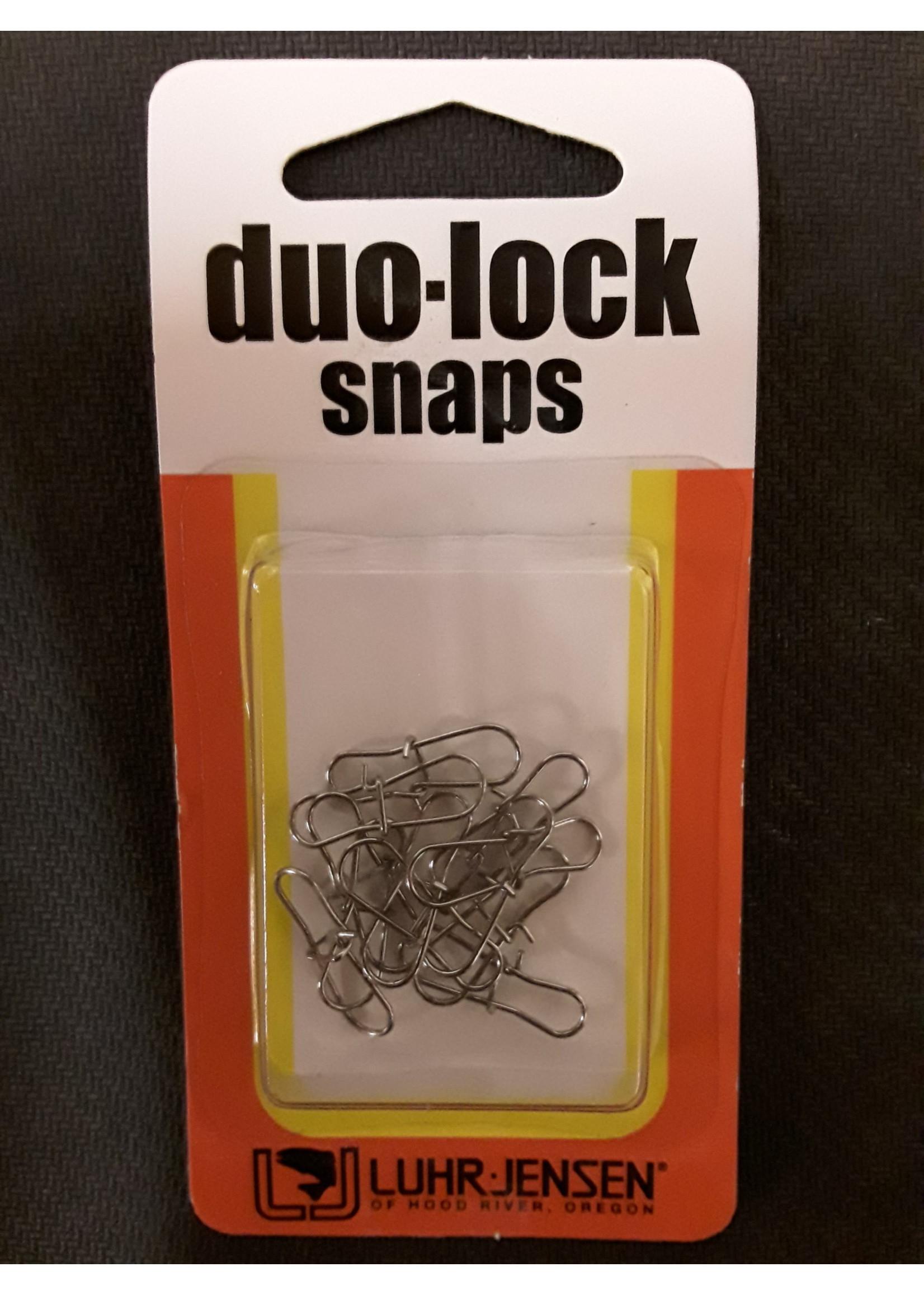 LUHR JENSEN Luhr Jensen Duo-Lock Snap 45 lb Test Sz53