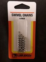 Luhr-Jensen Luhr-Jensen 6 Bead Chain / 4Pk  Stainless Steel