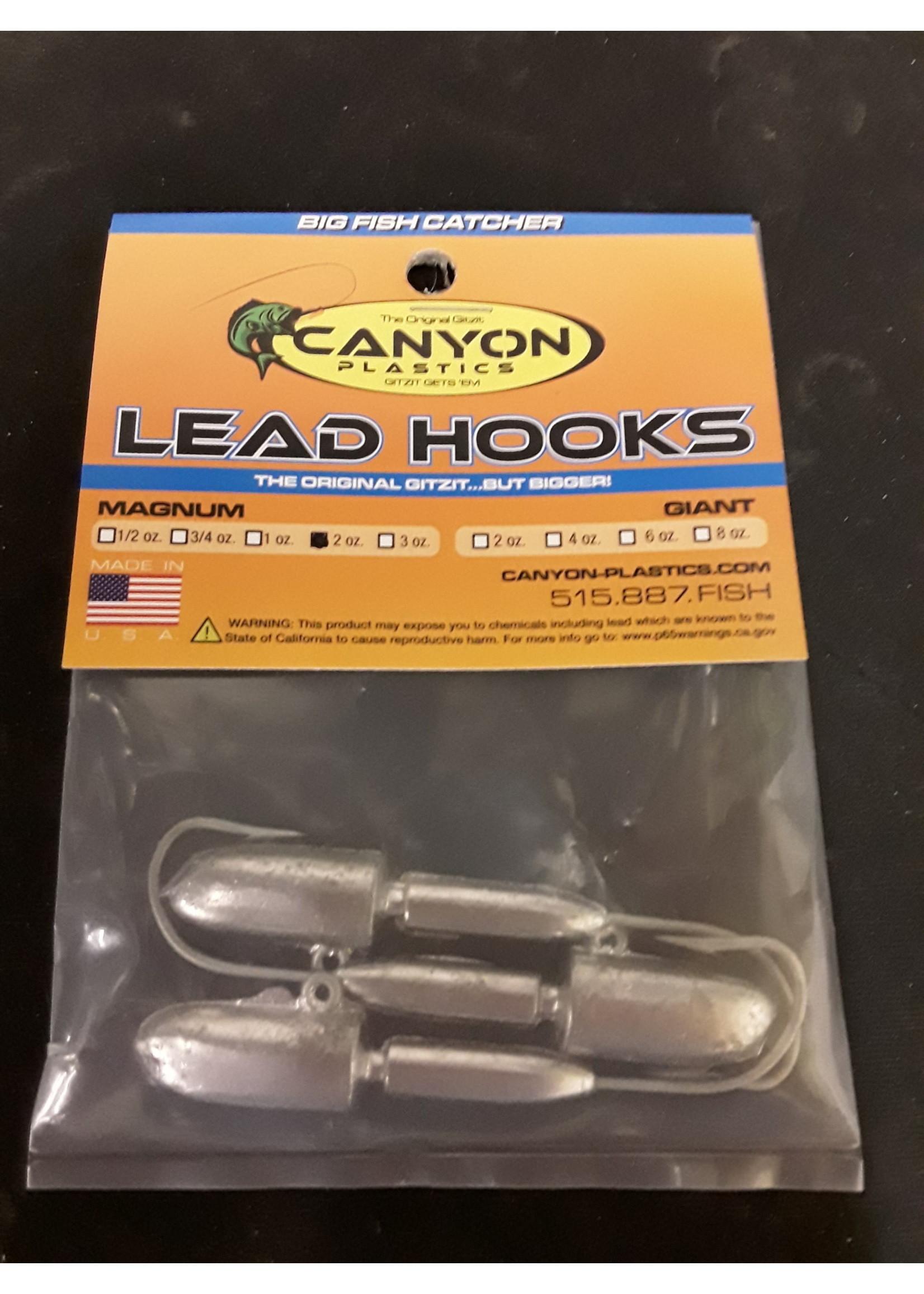 Canyon Magnum Lead Head Jig