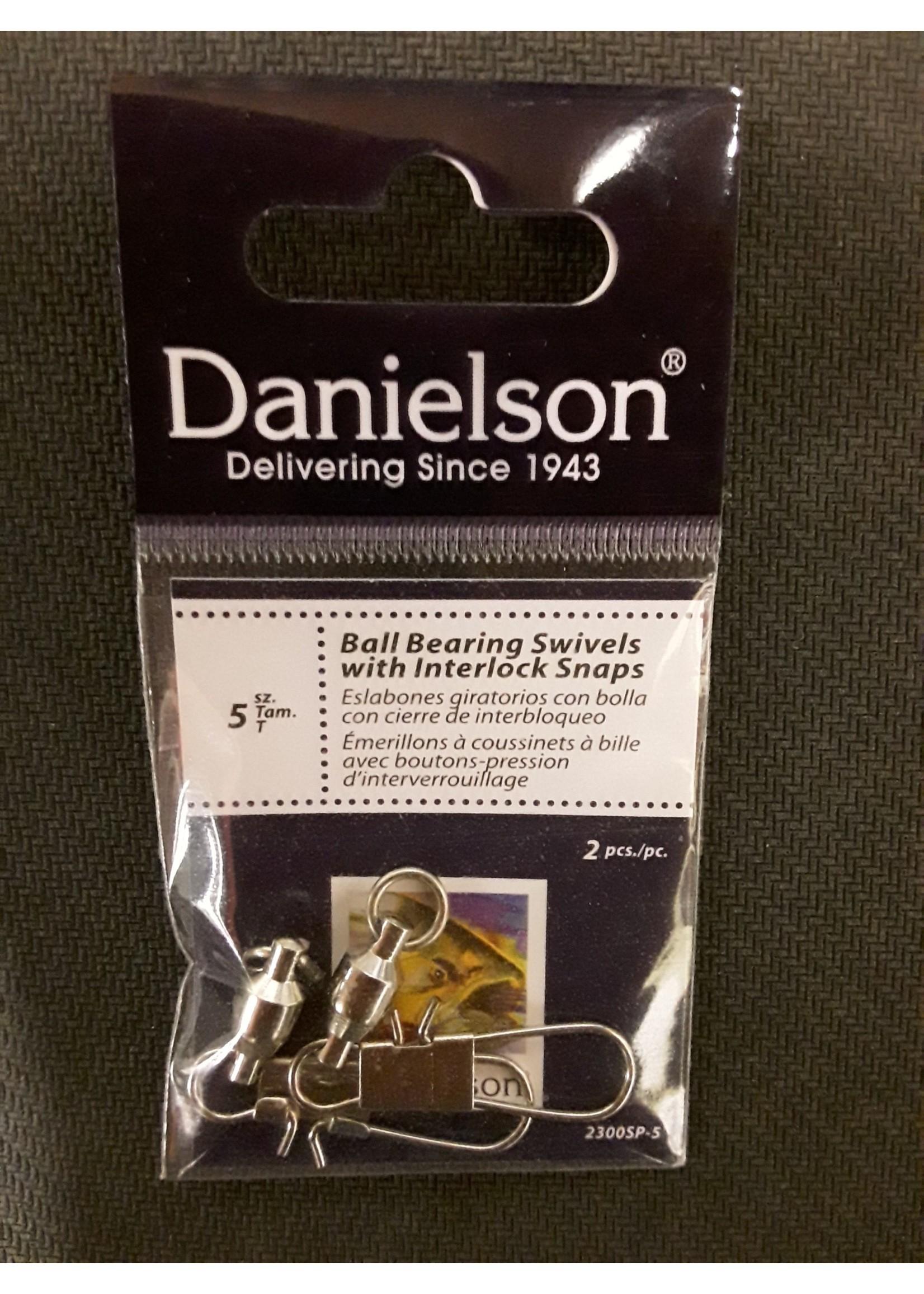 Danielson Danielson BB SWIVEL W/SNAP 5L 2pk