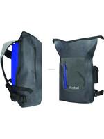 MUSTAD Dry backpack 30L Dark Grey/Blue 500D Tarpaulin