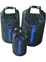 MUSTAD Mustad MB013 Dry Bag 60 Liter Roll Top, Dark Grey/Blue 500D Tarpaulin