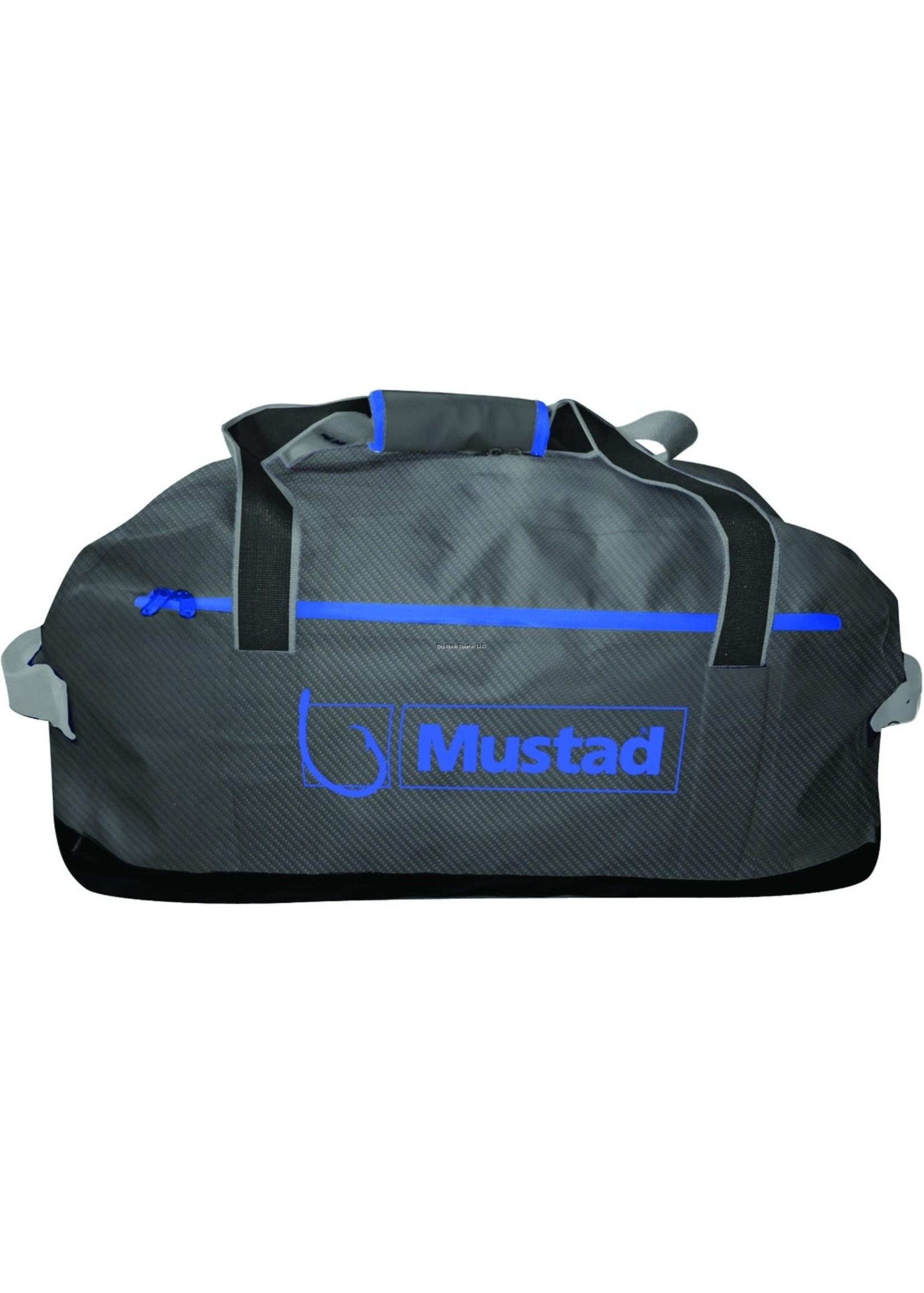 MUSTAD Mustad MB016 Dry Duffel Bag Waterproof, 50 Liter Dark Grey/Blue