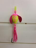 B&J Sporting Goods B&J Rigs Spin n Glo Yel/Pink