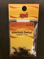 SMI SMI Swivels Barrl w/Intrlock Blk