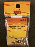 SMI SMI Swivels Barrl w/Intrlock Nkl