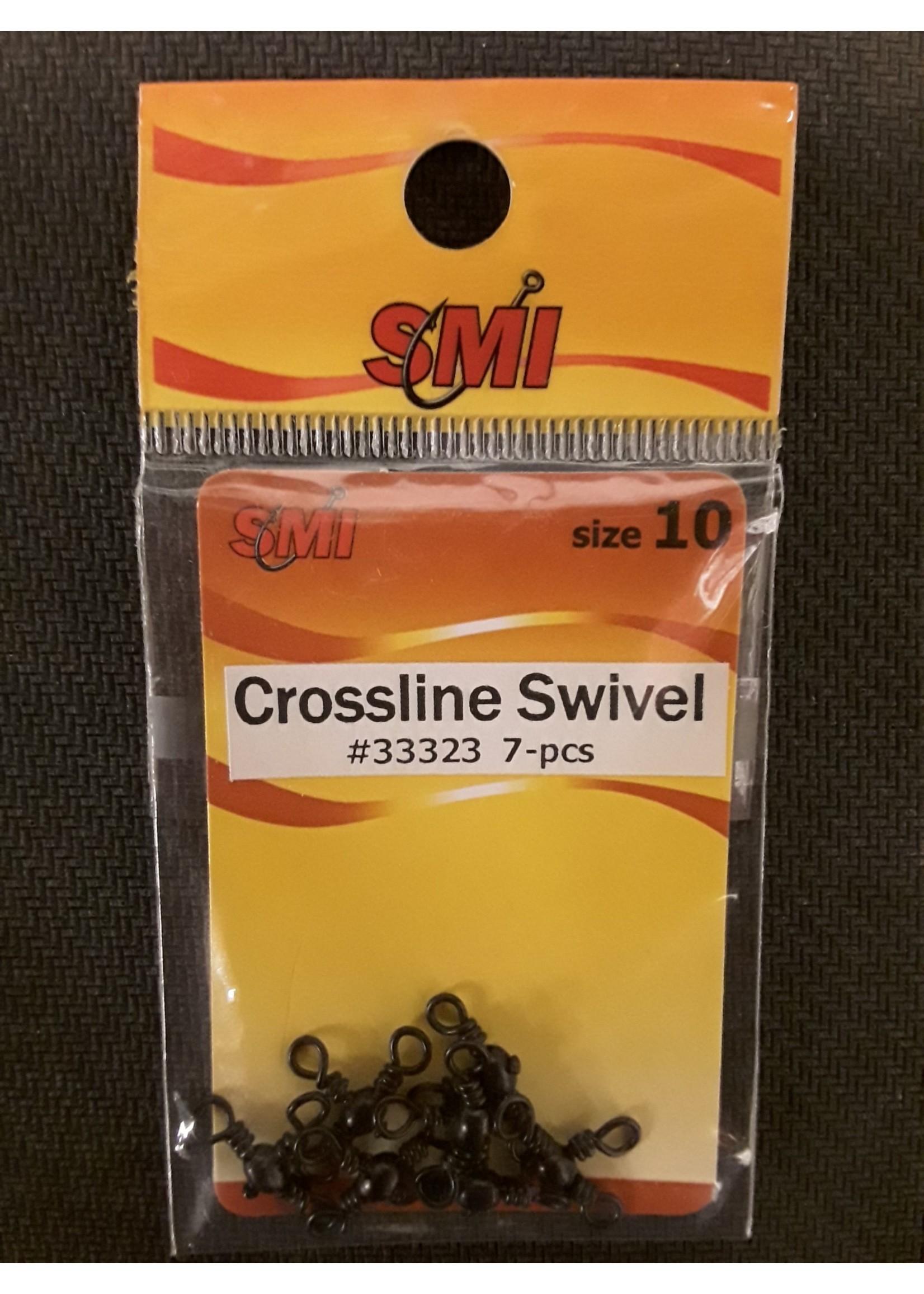 SMI Swivels Crossline Black