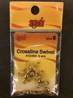 SMI Swivels Crossline Brass