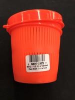 Scotty Vented Bait Jar Fl Red 1/2ltr