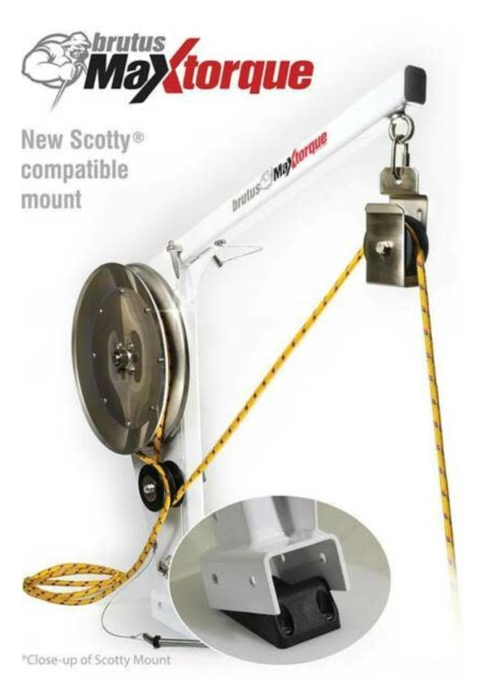 Ace Line Hauler Ace Line Hauler Pot Puller Scotty Mount
