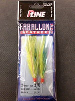 P-LINE P-Line Farallon Feather  5/0  2 Hook Rig
