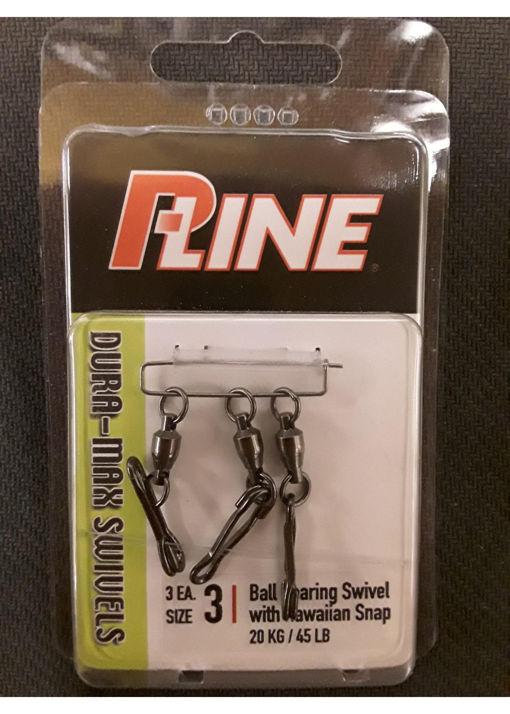 P-LINE P-Line Dura-Max Ball Bearing Swivel w/Hawaiian Snap