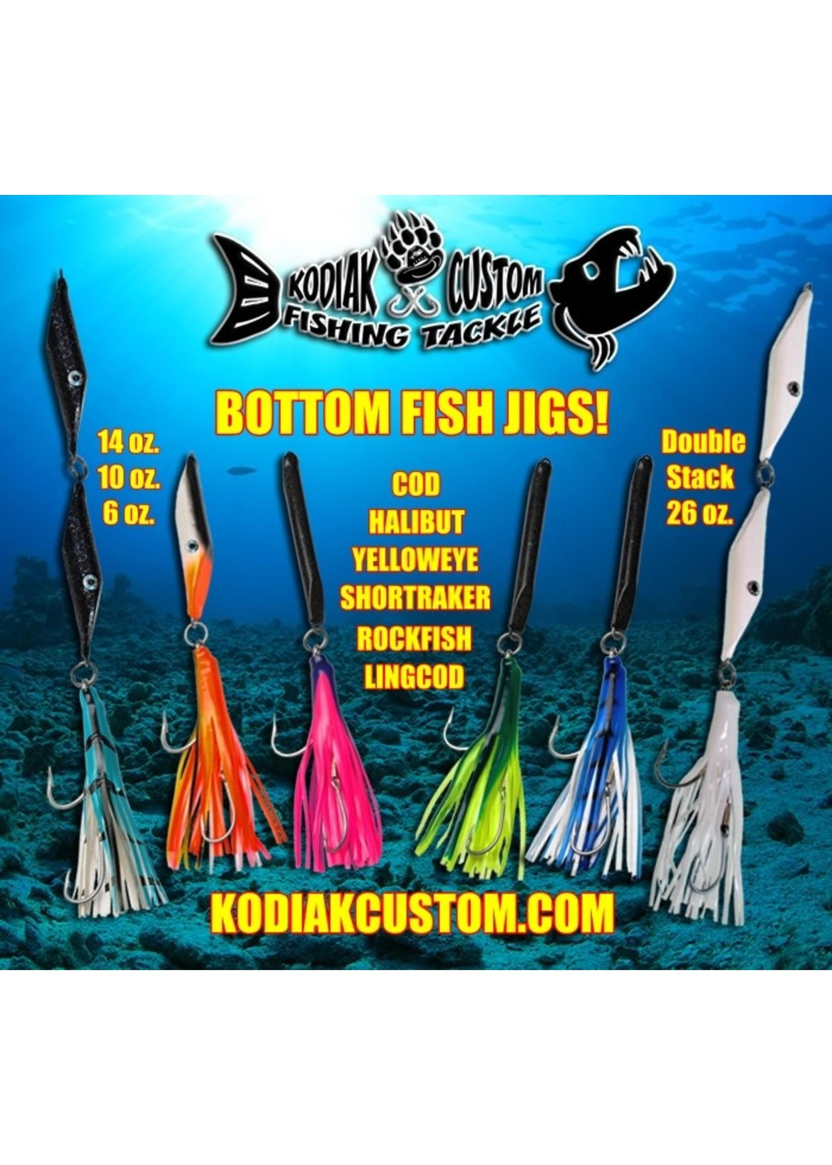 KODIAK CUSTOM FISHING Kodiak Bottom Fish Jig 14oz