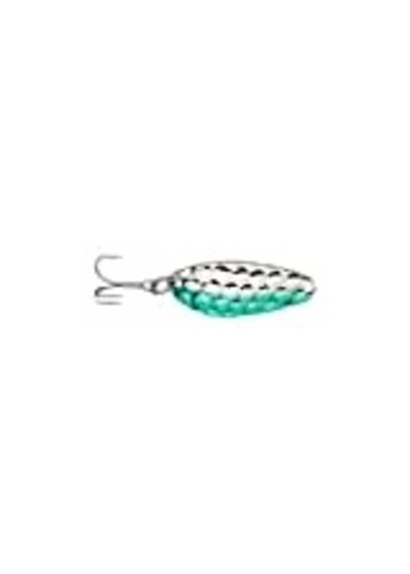"""Acme Tackle Acme C200/HNG Little Cleo Spoon, 2 1/8"""", 2/5oz, Hammered Nickel &"""