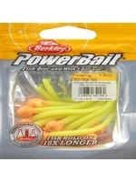 Berkley PowerBait Floating Mice Tails 1307592 Half Bag Orange Silver/Chartreuse