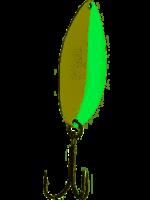 """Acme Tackle Acme C200GL/GLG Little Cleo Spoon 2 1/8"""", 2/5 oz, Glow & Green"""