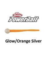 Berkley PowerBait Floating Mice Tails 1307590 Half Bag Glow/Orange Silver