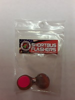 Shortbus Shortbus Flashers BWS-FPINK Bling Wing - Small - Flourescent Pink