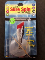 Sure Spin SHCLUVS3 Baitfish Helmet Clear UV SM