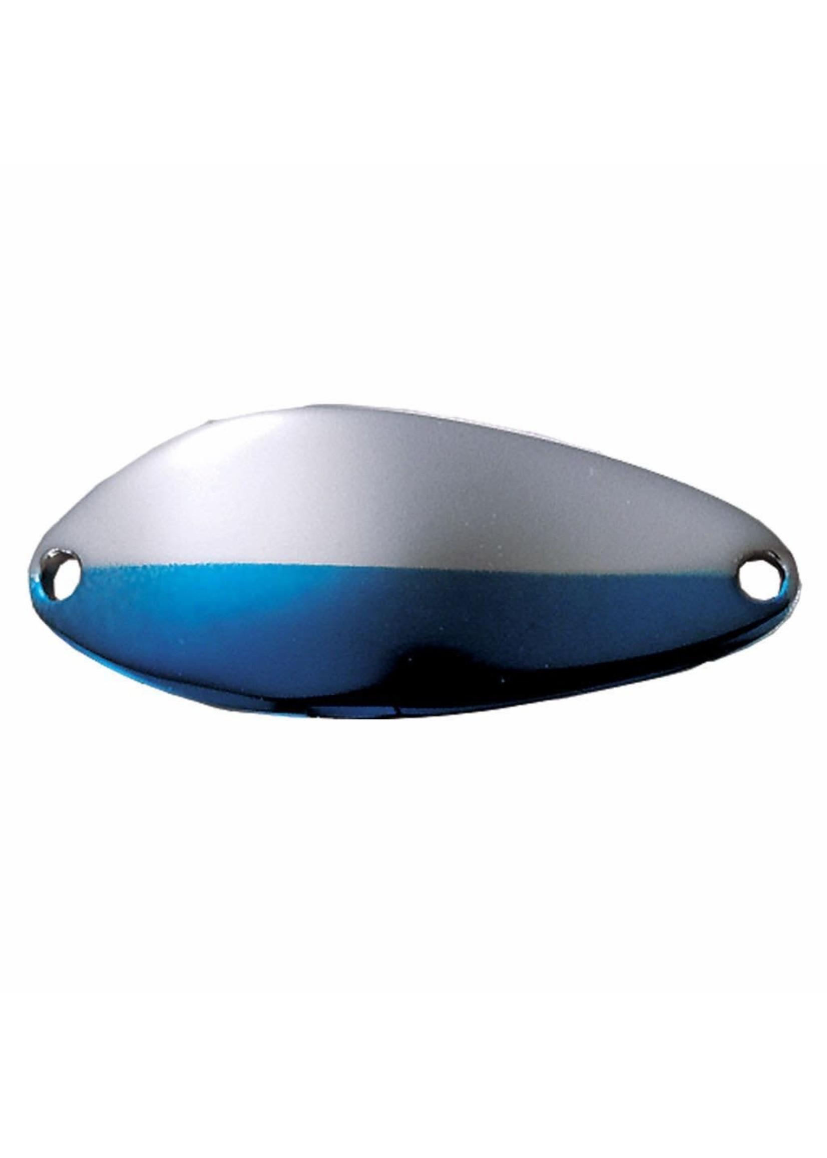 "Acme Tackle Acme C200/NNB Little Cleo Spoon, 2 1/8"", 2/5oz, Nickel & Neon Blue"