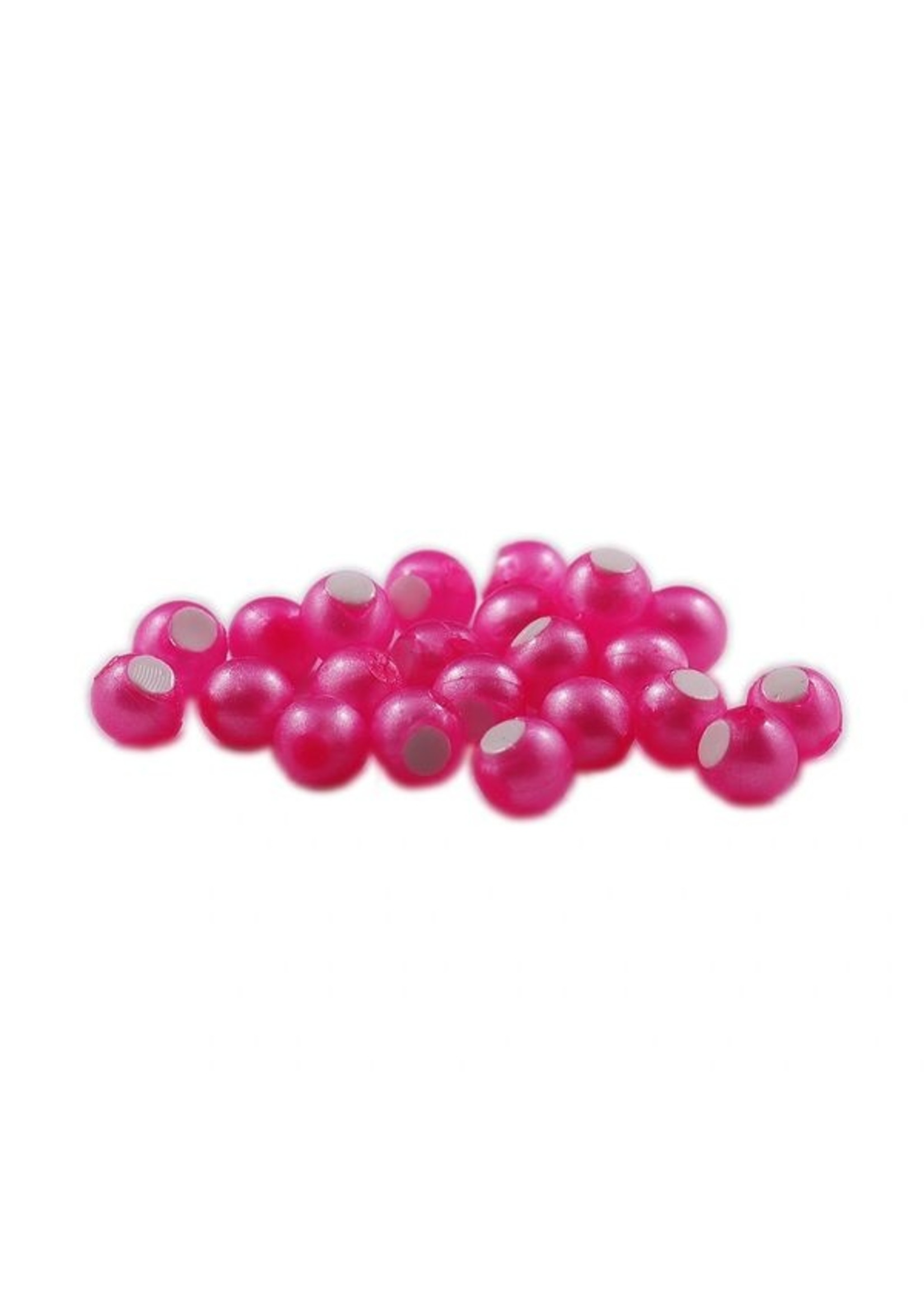 Cleardrift Cleardrift Embryo Soft Beads Pink Pearl w/White Embryo 14mm