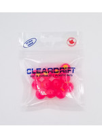 Cleardrift Cleardrift Embryo Soft Beads Cerise w/Chart Embryo 10mm