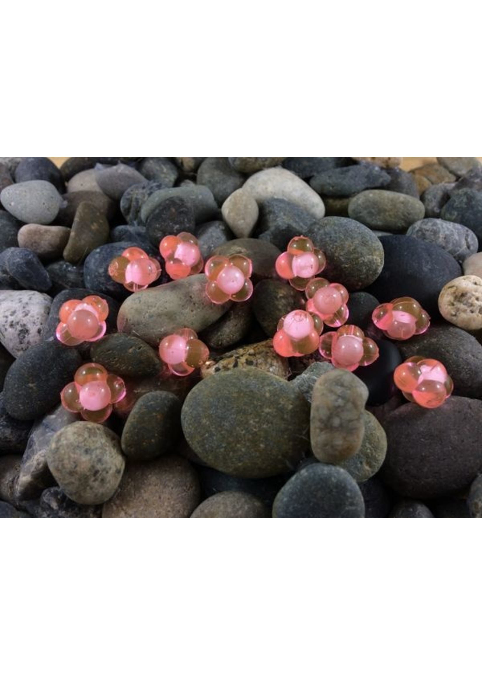 Cleardrift Cleardrift Embryo Egg Clusters Lg Candy Apple w/White Embryo