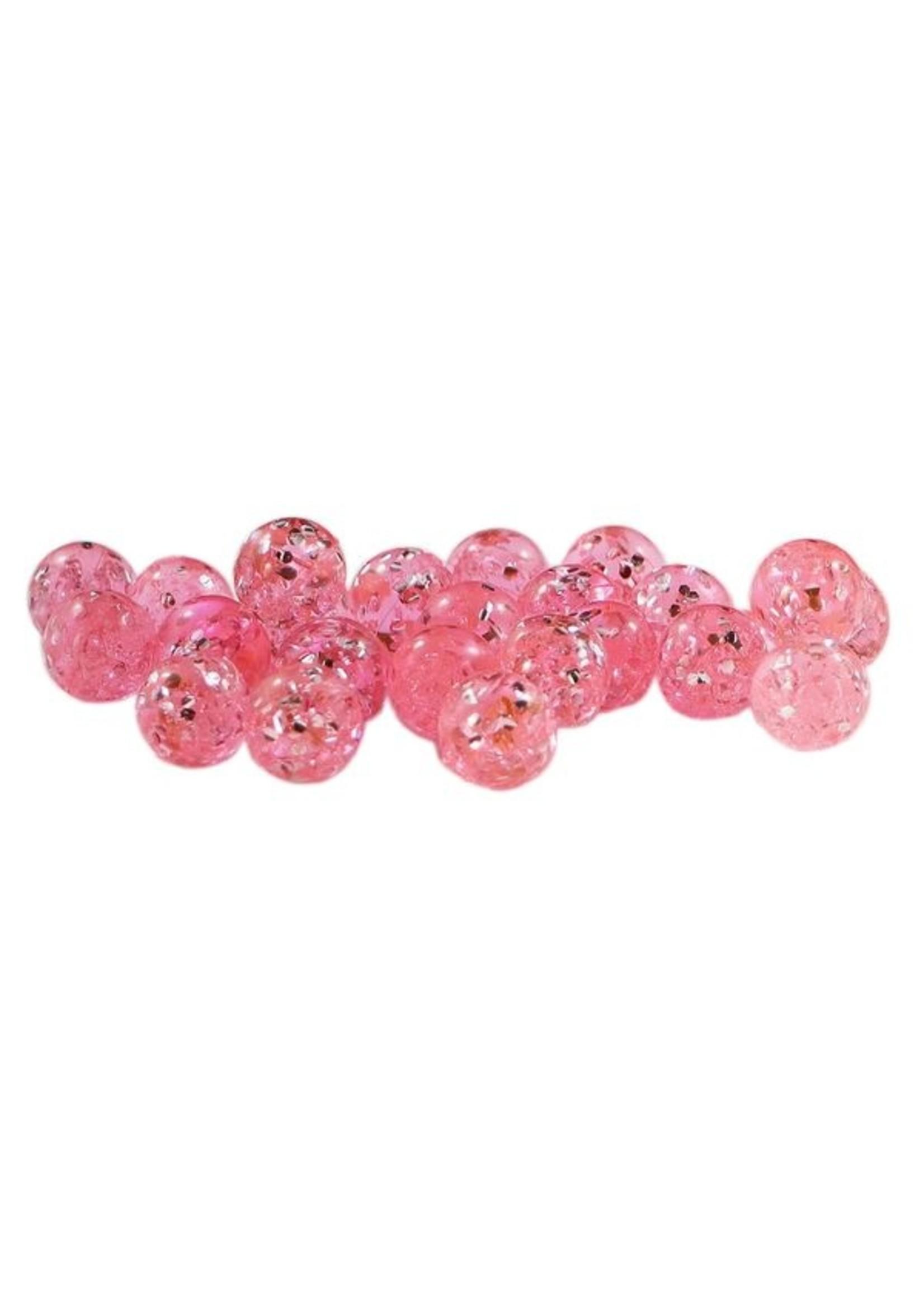 Cleardrift Cleardrift Glitter Bomb Soft Beads Candy Apple 12mm