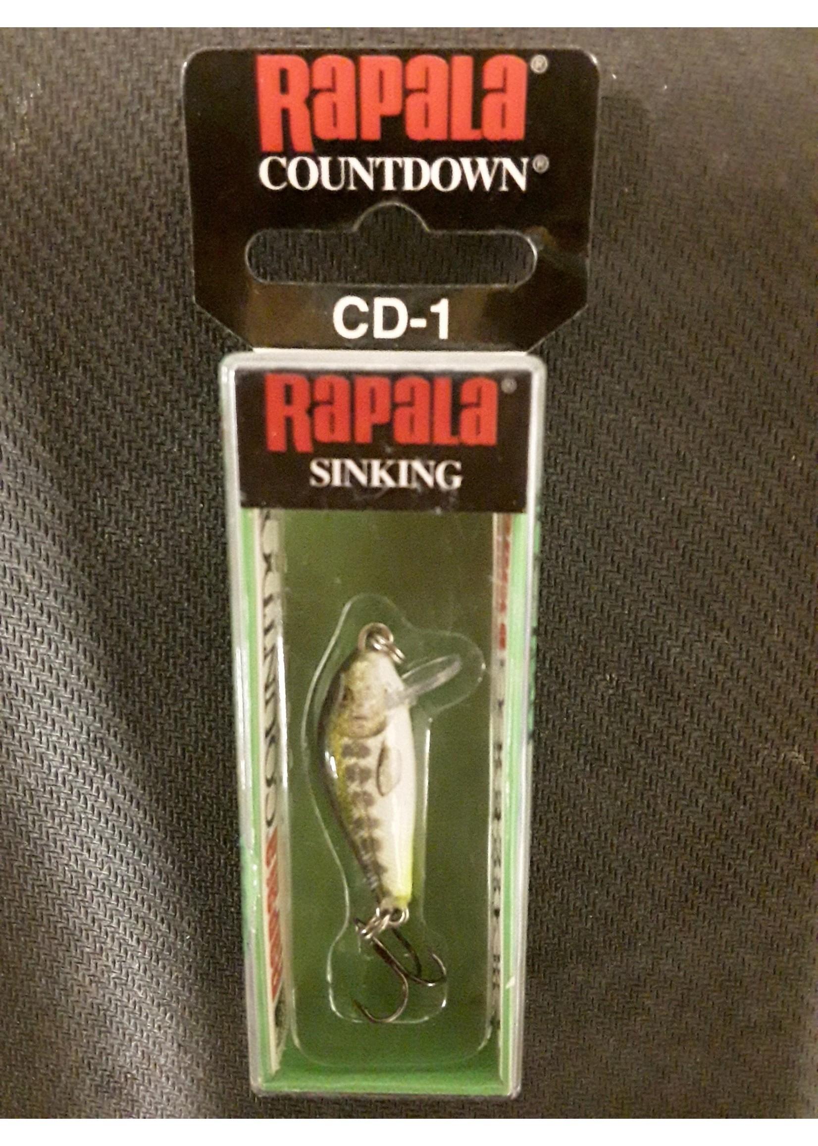 Rapala Rapala CountDown 01  Olive Green Muddler