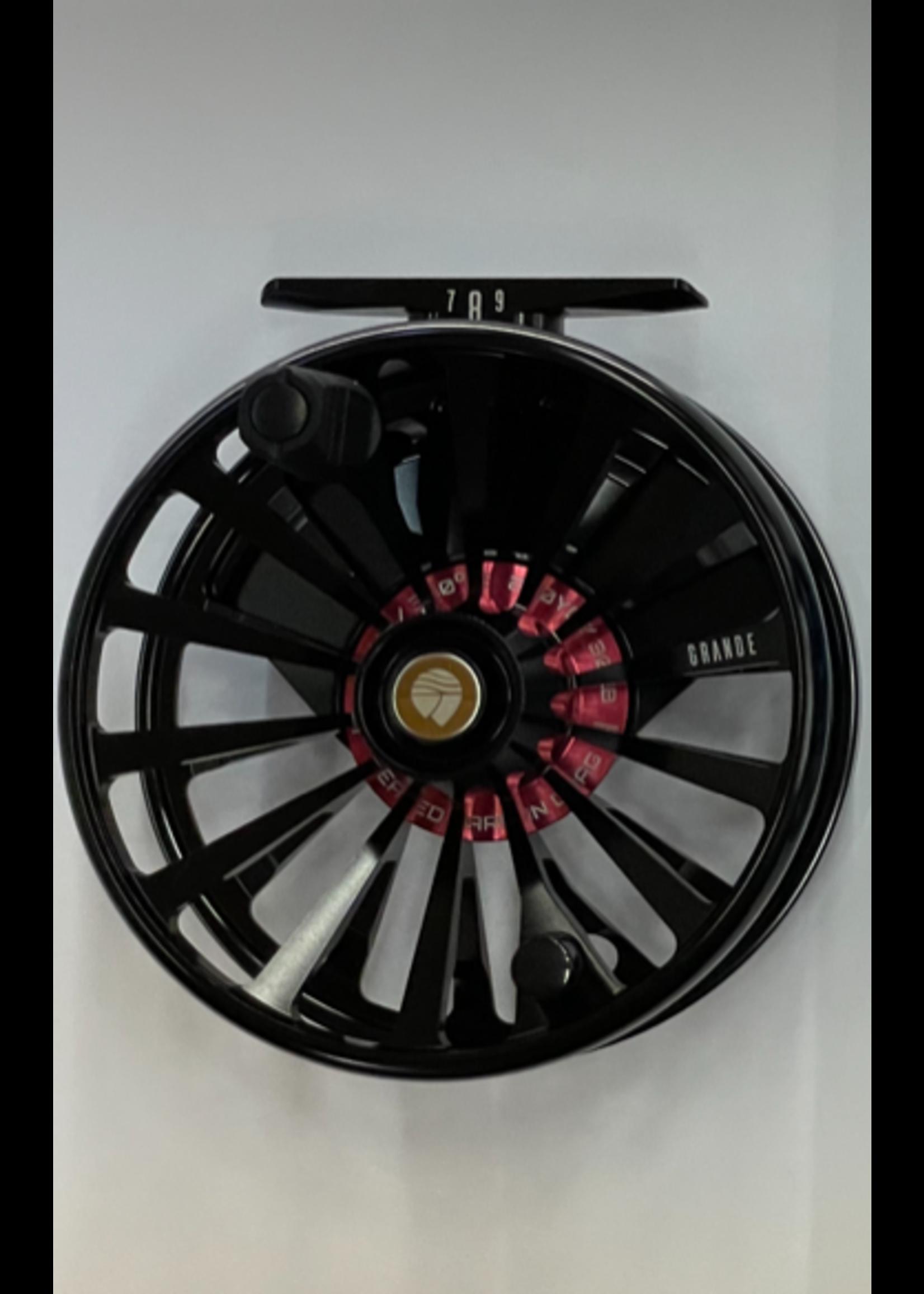 Reddington Grande Fly Reel Black 7/8/9wt