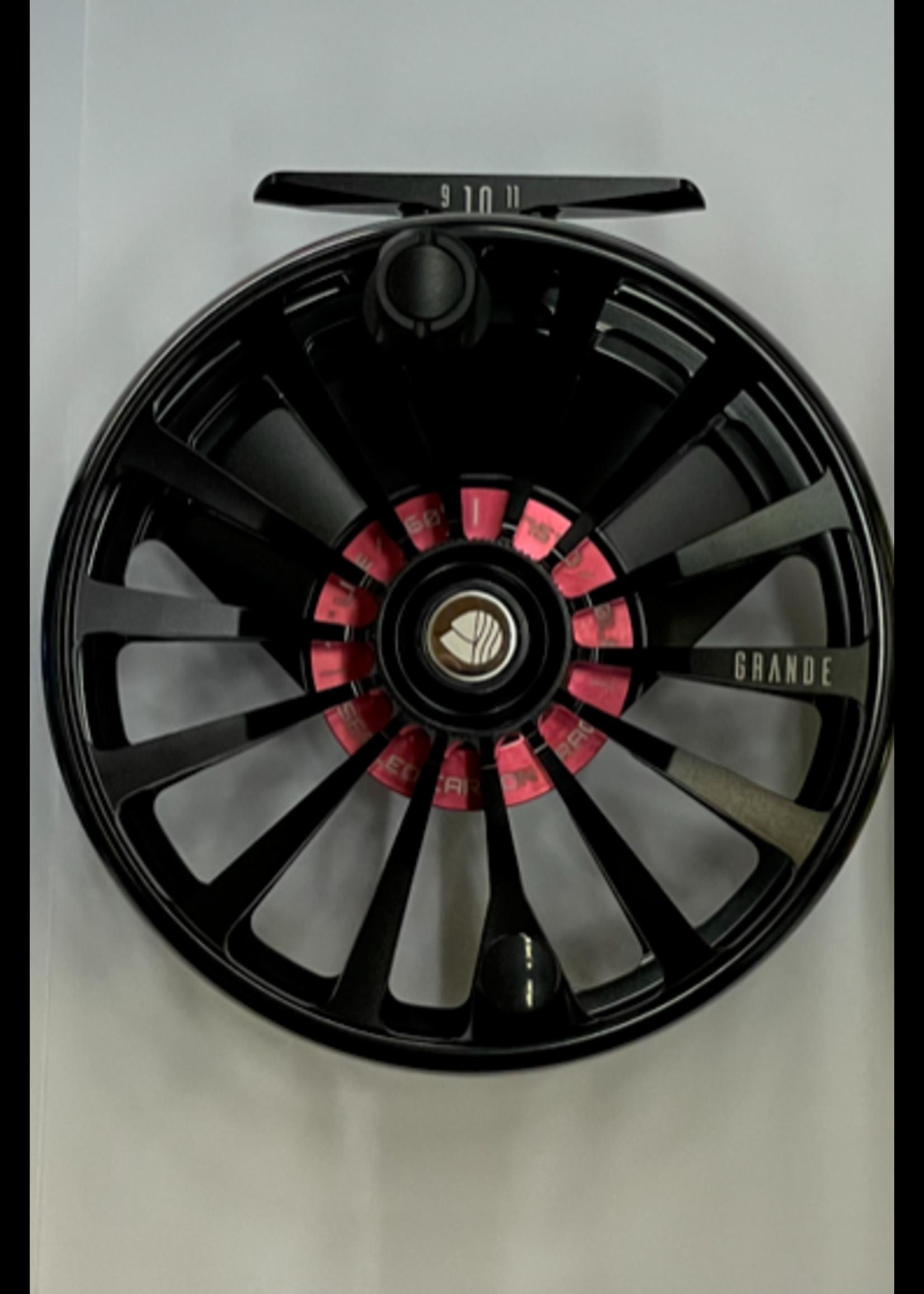 Reddington Grande Fly Reel Black 9/10/11wt