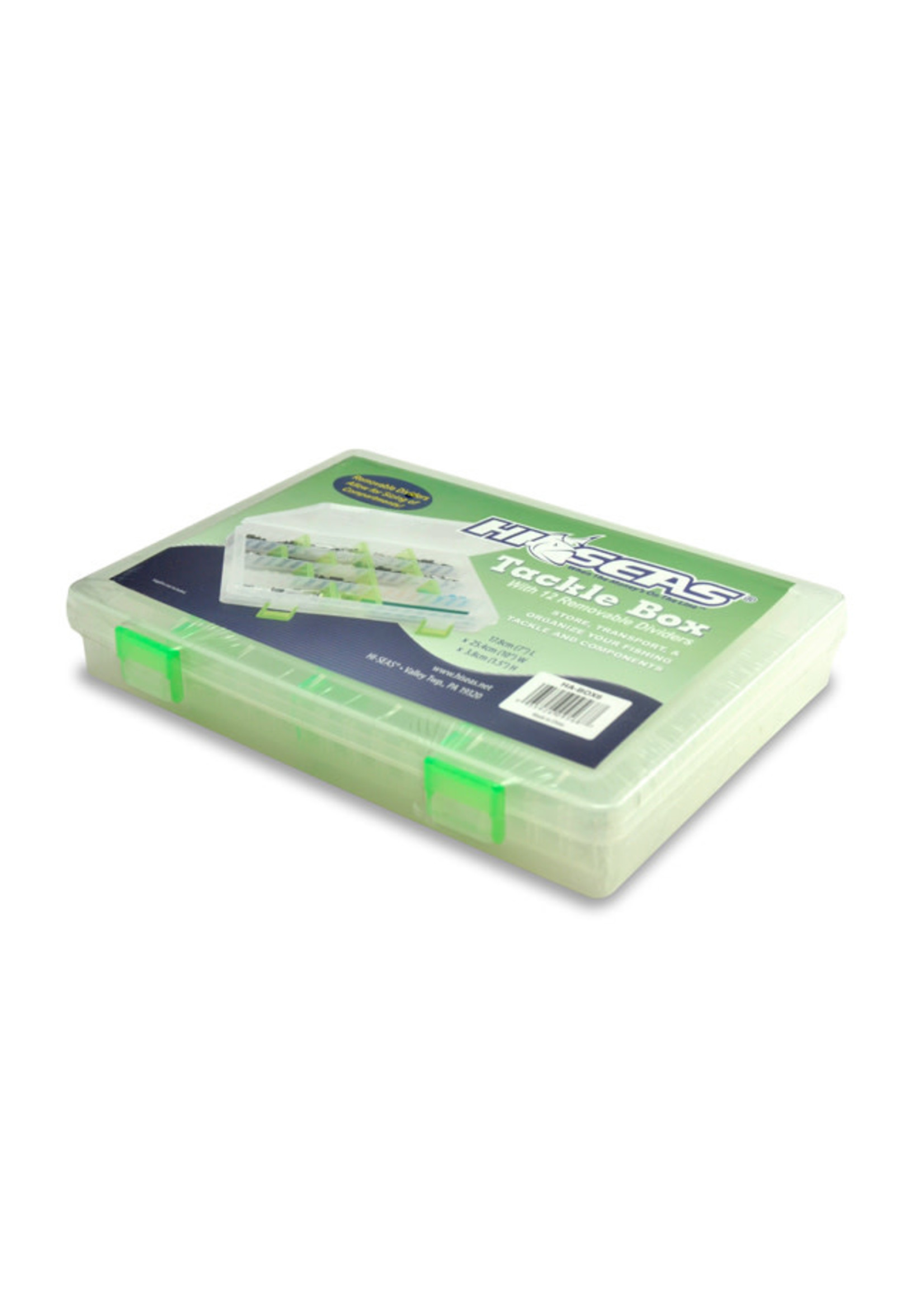 """Tackle Box 12 Moveable Dividers 1.5"""" x 7"""" x 10"""""""