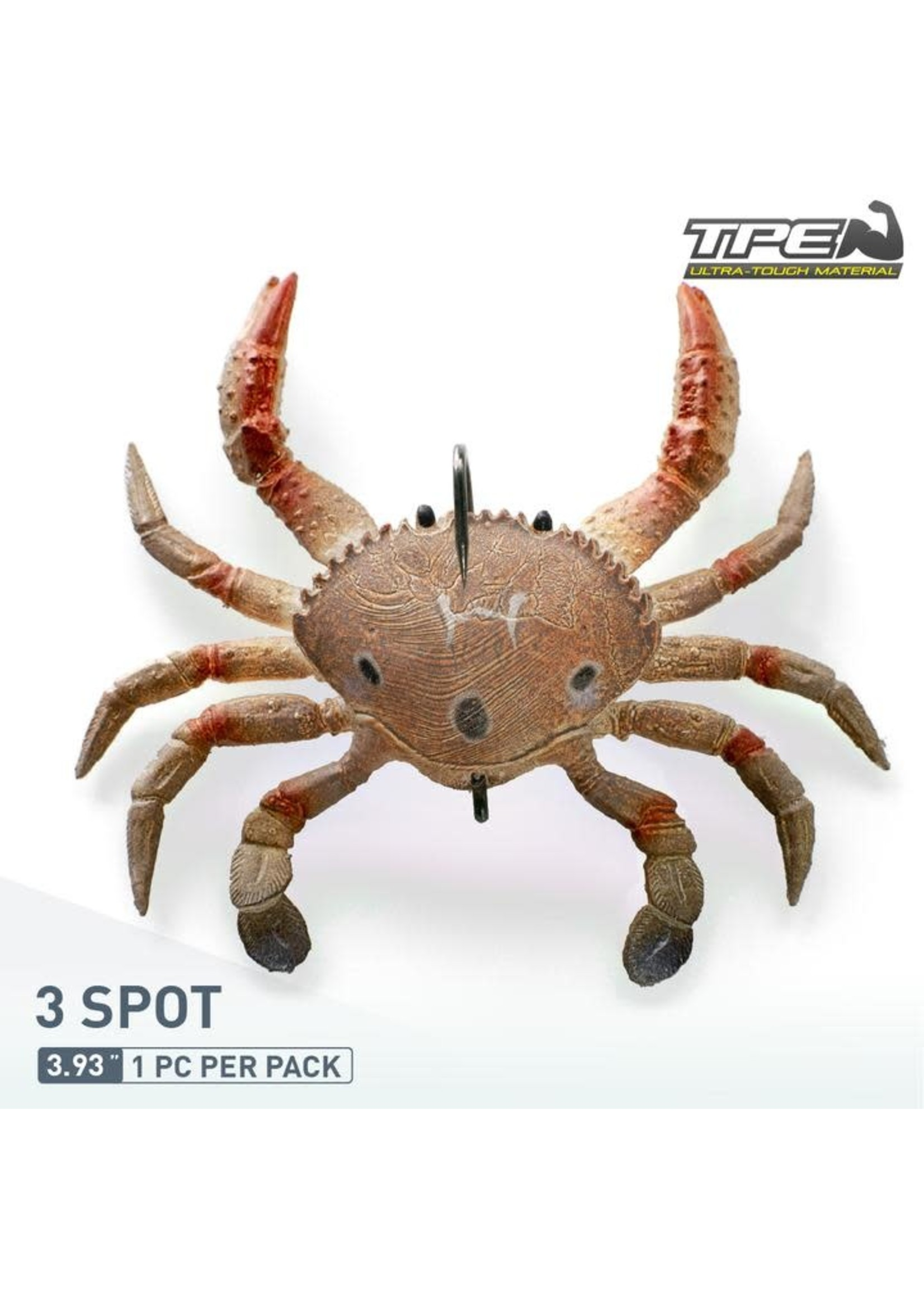 "ChaseBaits Smash Crab 4"" 3 Spot"