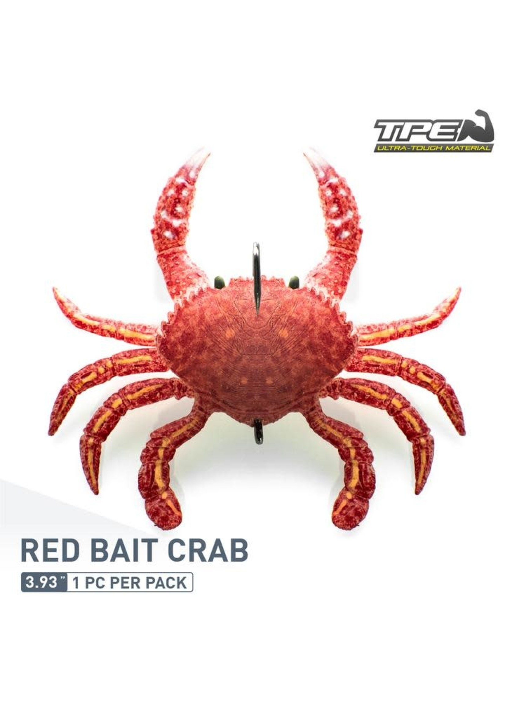 "ChaseBaits SMASH CRAB 4""  RED BAIT CRAB"