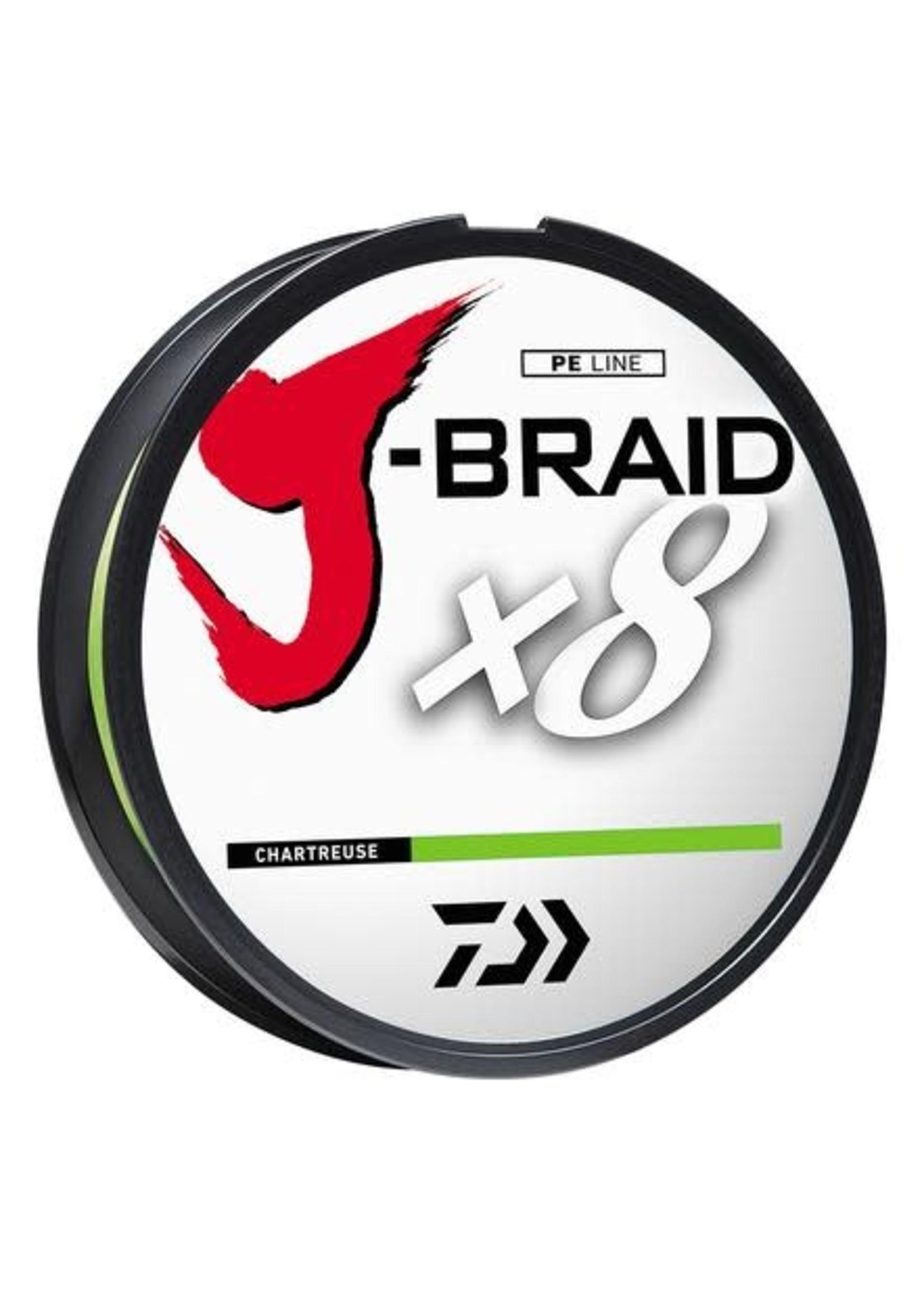 Daiwa Corp. J-Braid 8X300y