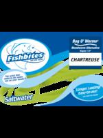 "Fishbites Fishbites Bag O' Worms - 3/8"" Bloodworm - Long Lasting chart"