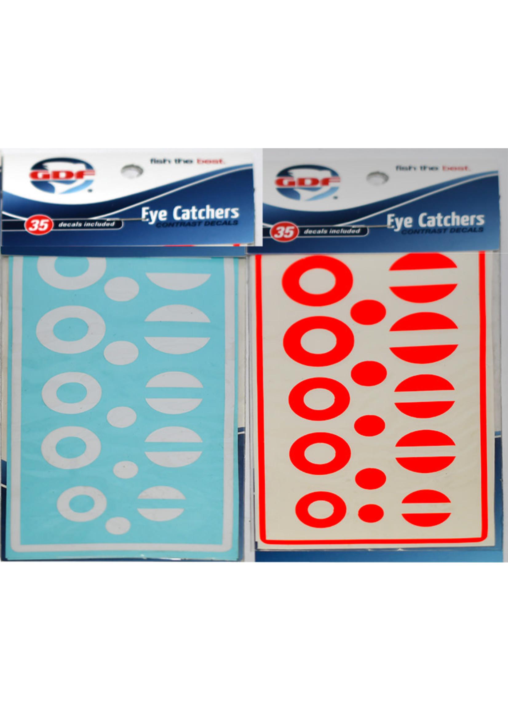 GDF Eye Catchers Circles/Dots Red