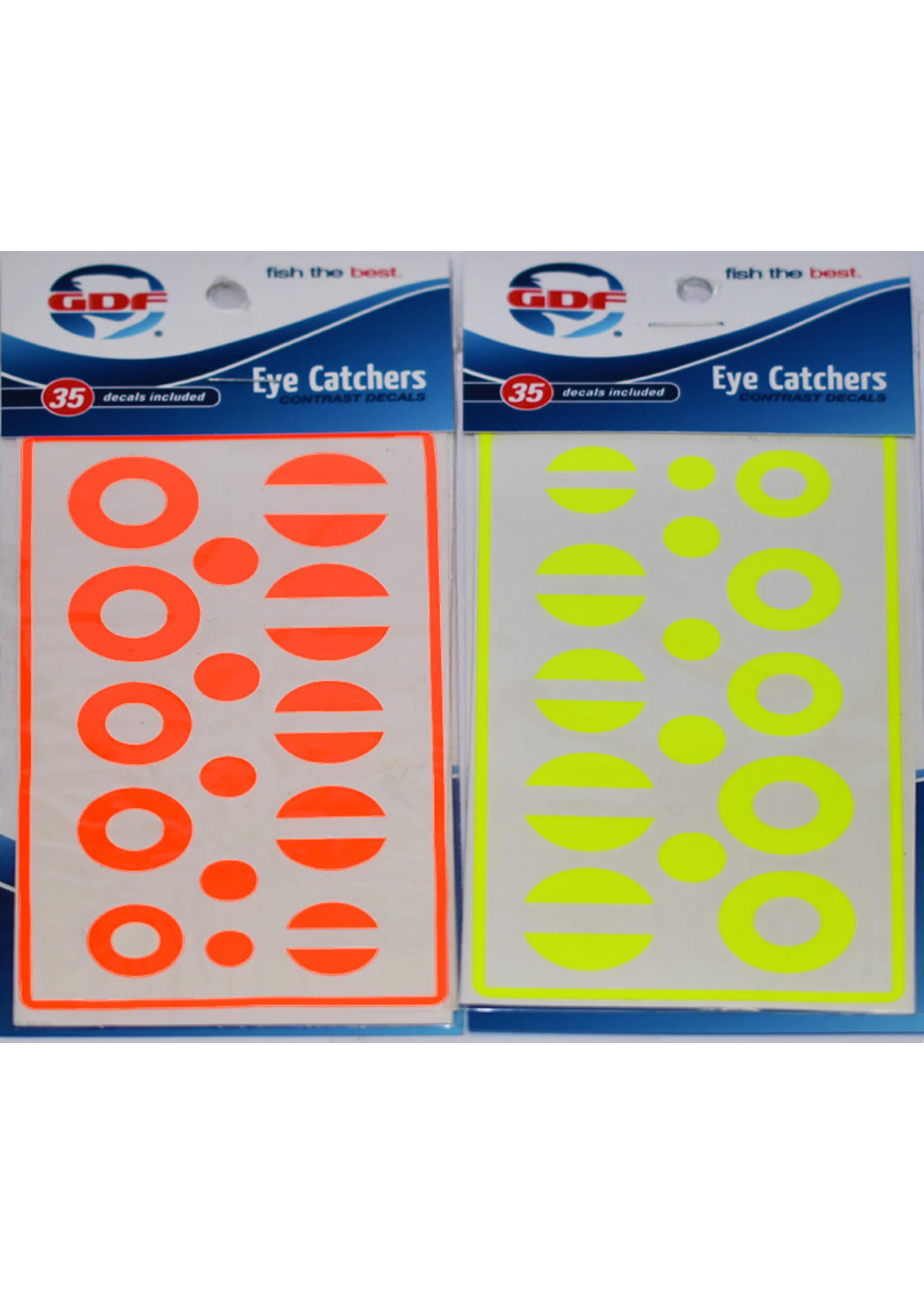 GDF Eye Catchers Circles/Dots Orange