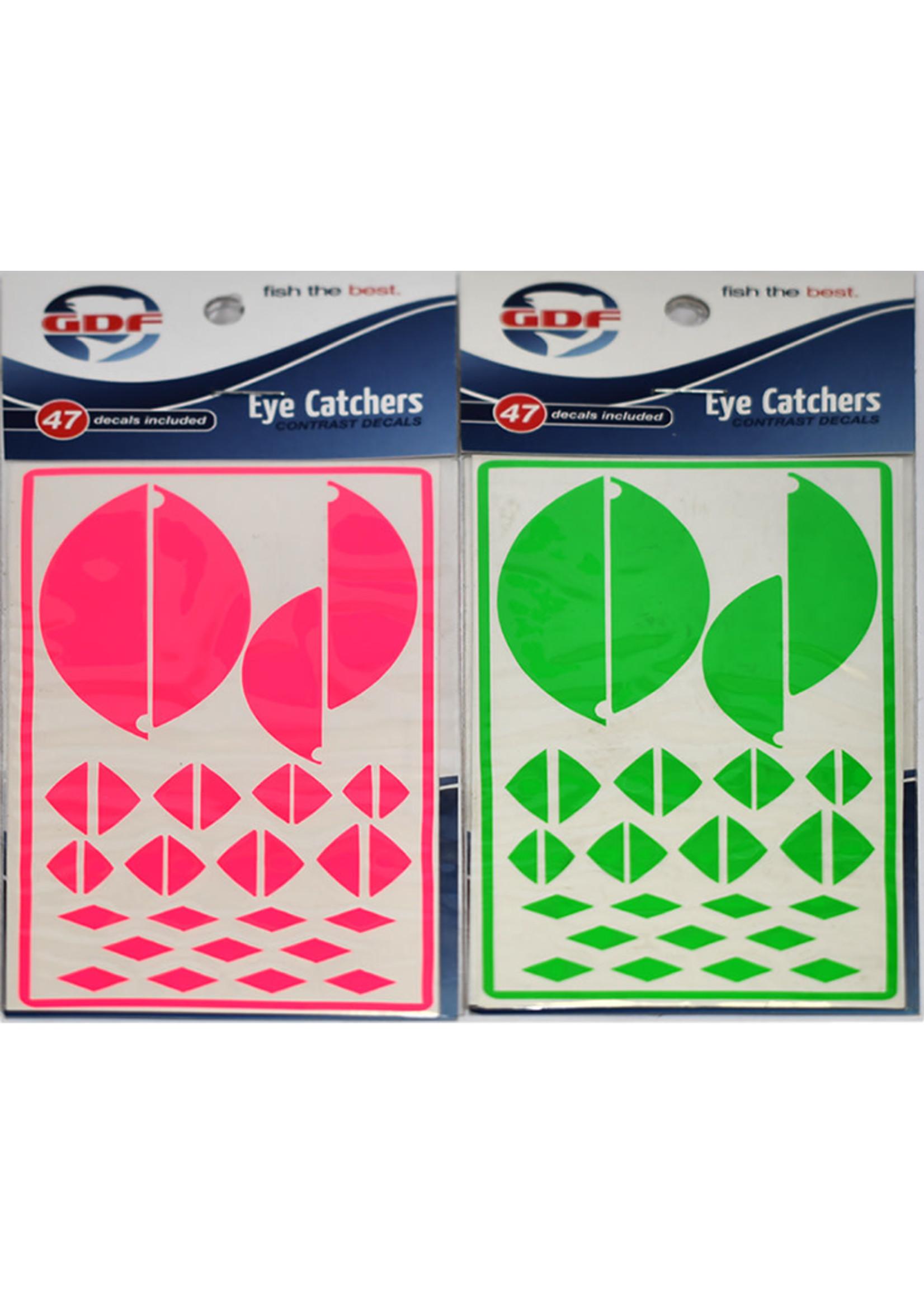 GDF Eye Catchers Tips/Slants Green